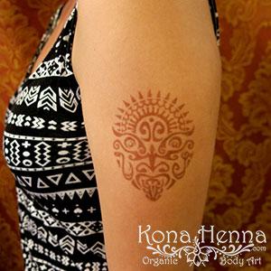 Kona Henna Studio - arms gallery