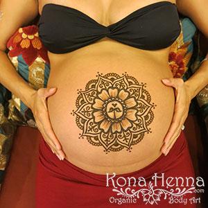 Kona Henna Studio - baby-bellies gallery