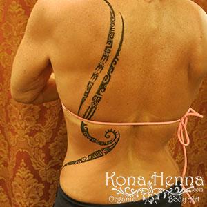 Kona Henna Studio - backs gallery