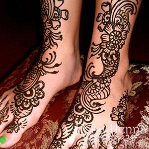 Kona Henna Studio - feet gallery