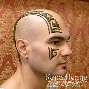 Kona Henna Studio - heads gallery
