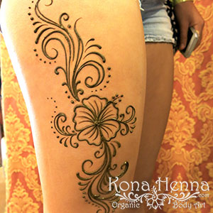 Kona Henna Studio - legs gallery
