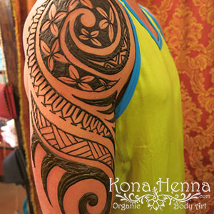 Kona Henna Studio - sleeves gallery